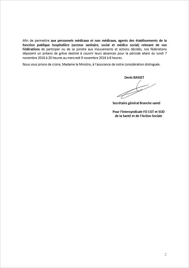 2016 10 03 preavis de greve pour le ministere 02