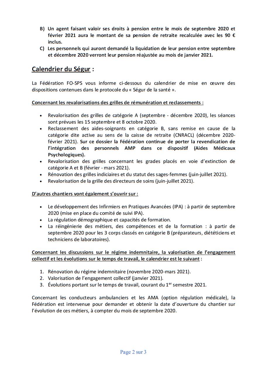 2020 09 01 compte rendu segur du 2eme comite de suivi du protocole d accord du segur 2