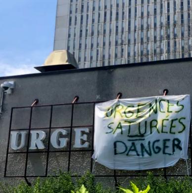 Urgences saturees danger